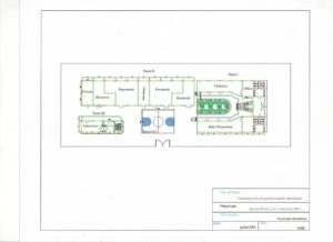This is the plan of the Parisot School currently under construction in Jacmel, Haiti
